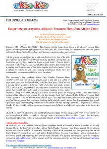 Release uKloo - 07 - EasterHunt